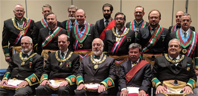 Grand Council of Knight Masons Officers