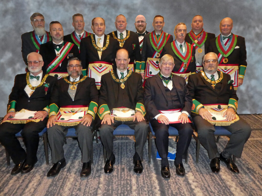 Knight Masons 2020 Grand Officers